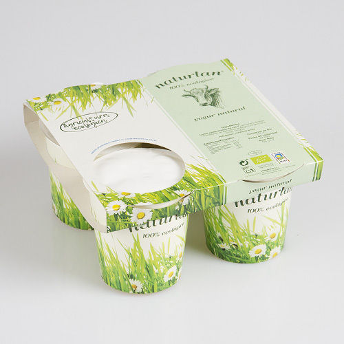 YOGURT NATURAL DE VACA 4 x 125 gr ECOLOGICO