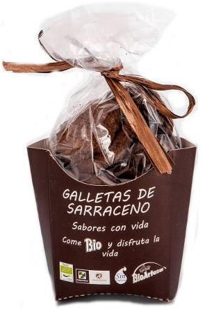 GALLETAS DE TRIGO SARRACENO Y ALGARROBA ECOLOGICAS 150GR