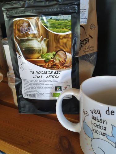 INFUSION ROOIBOS  CHAI-AFRICA ECOLOGICO 60 GR